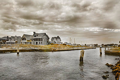 Quiet Time Photograph - Welcome To Bald Head Island by Betsy Knapp