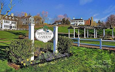 Photograph - Welcome To Brewster Gardens by Janice Drew