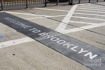 Photograph - Welcome To Brooklyn by Patricia Hofmeester