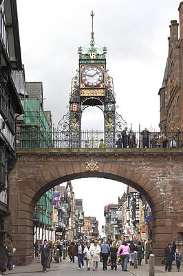 Welcome To Chester Print by Mike McGlothlen