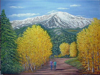Art Print featuring the painting Welcome To God's Country by Fran Brooks
