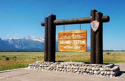 Photograph - Welcome To Grand Teton  by Dany Lison