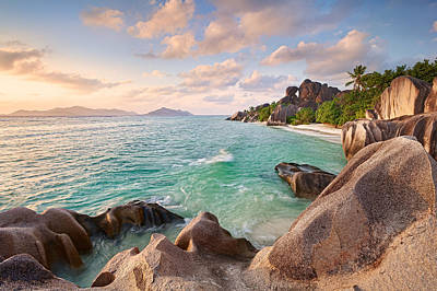 Argent Photograph - Welcome To La Digue by Michael Breitung