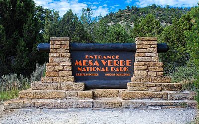 Photograph - Welcome To Mesa Verde by Dany Lison
