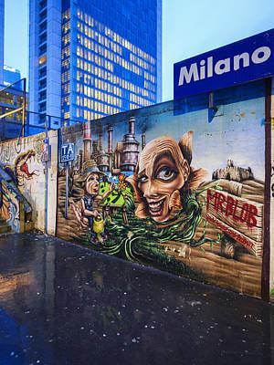 Photograph - Welcome To Milano by Alfio Finocchiaro