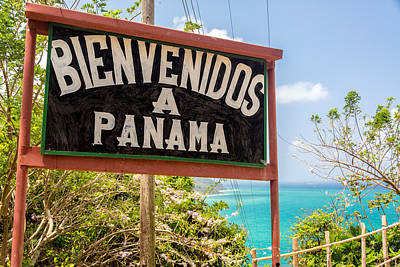 Welcome To Panama Art Print by Jess Kraft