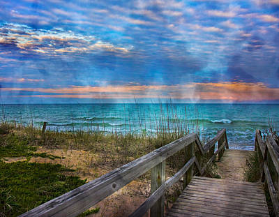 Topsail Island Photograph - Welcome To Paradise by Betsy Knapp