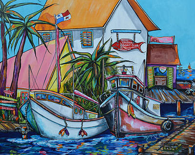 Painting - Welcome To Paradise by Patti Schermerhorn