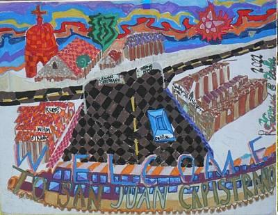 Welcome To San Juan Capistrano Original by Howard Yosha