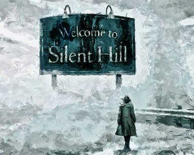 Painting - Welcome To Silent Hill by Joe Misrasi