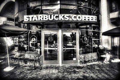 Photograph - Welcome To Starbucks by Spencer McDonald