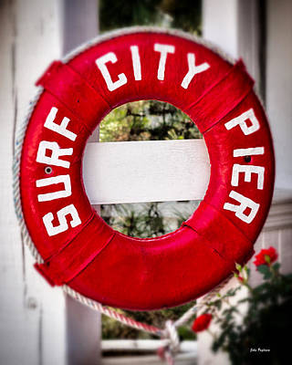 Welcome To Surf City Art Print