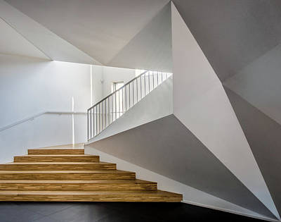 Staircase Photograph - Welcome To The Academy by Luc Vangindertael (lagrange)