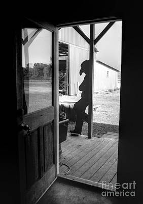 Photograph - Welcome To The Dude Ranch by Kathy Baccari