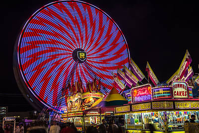 Oreos Photograph - Welcome To The Fair. by William  Carson Jr