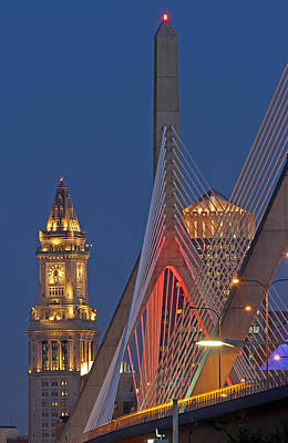 Cityscapes Photograph - Welcome To The Great City Of Boston by Juergen Roth