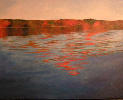 Painting - Welcome To The Lake by Susan M Fleischer