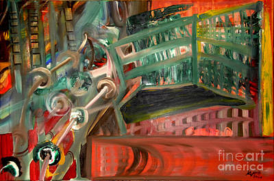 Painting - Welcome To The Machine by James Lavott