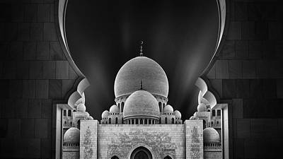 Portal Photograph - Welcome To The Mosque by Fred Gramoso