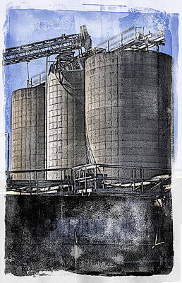 Photograph - Welcome To The Silos by Davina Washington
