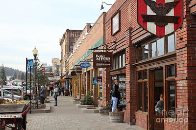 Welcome To Truckee California 5d27445 Art Print