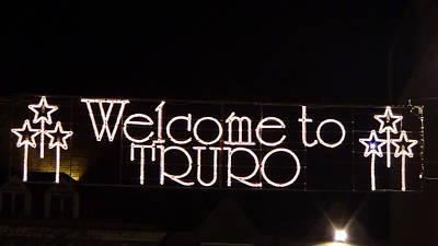 Welcome To Truro Art Print