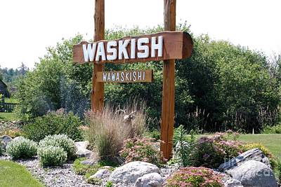 Photograph - Welcome To Waskish by Mark McReynolds