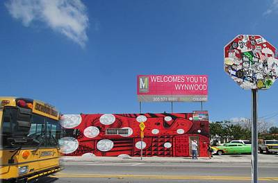 Photograph - Welcome To Wynwood by Emil Bodourov
