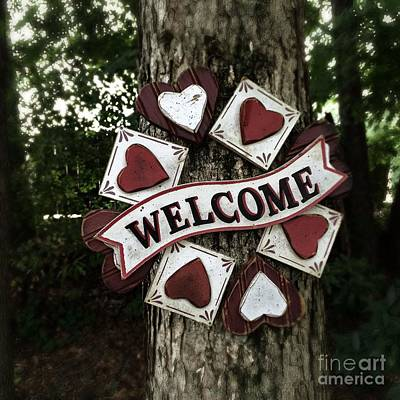 Photograph - Welcome With Love by Diane Macdonald