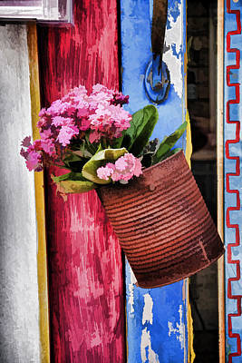 Curated Beach Towels - Welcoming Flowers by Gary Slawsky