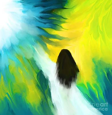 Painting - Welcoming The Light by Hilda Lechuga