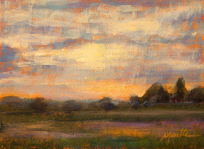 Country Painting - Weld County by Athena Mantle Owen