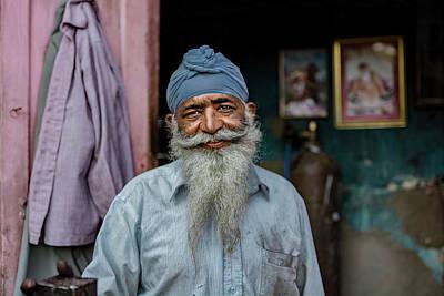 Ethnic Portraits Photograph - Welder by Yasemin Bakan