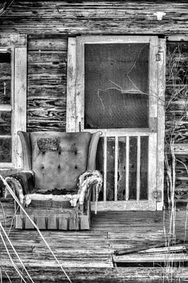 Well Excuse Me But I Think You Have My Chair Art Print by JC Findley