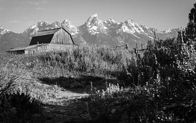 Teton Wall Art - Photograph - Well Known by Kristopher Schoenleber