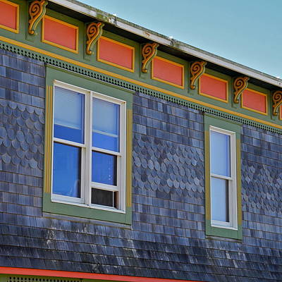 Photograph - Well Shingled Building In Newport Or by Kirsten Giving