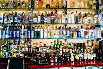Photograph - Well Stocked Bar by Ben Graham
