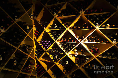Photograph - Well Stocked Wine Cellar. by Don Landwehrle
