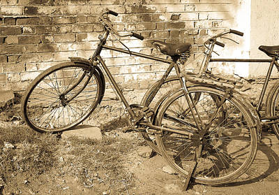 Photograph - Well-worn Transportation by Dave Hall
