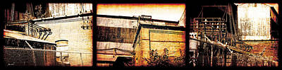 Photograph - Welland Forge Triptych 1 by The Art of Marsha Charlebois