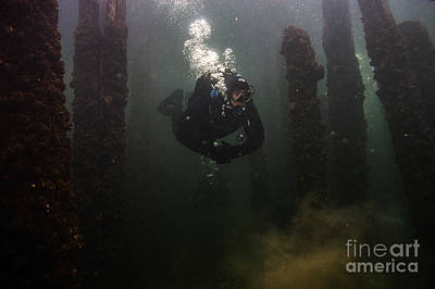 Photograph - Welland Train Bridge Scuba Diving by JT Lewis