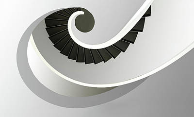 Spiral Wall Art - Photograph - Welle by Anette Ohlendorf