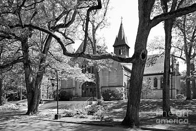 Wellesley College Houghton Chapel Art Print by University Icons