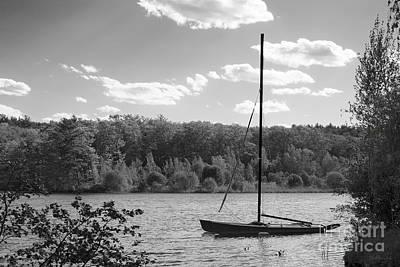 Photograph - Wellesley College Waban Lake by University Icons
