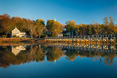Wellfleet Reflection Art Print