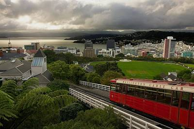 Funicular Photograph - Wellington Cable Car by Stuart Litoff