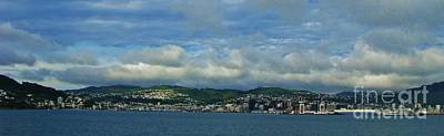 Photograph - Wellington New Zealand by Michele Penner