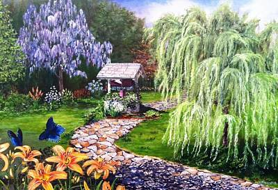 Painting - Wellness by Kevin F Heuman