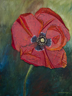 Painting - Wellness Poppy by Lisa Fiedler Jaworski