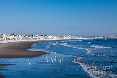 Photograph - Wells Beach In Winter by Susan Cole Kelly
